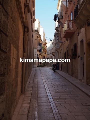 マルタ、ヴィットリオーザの小道