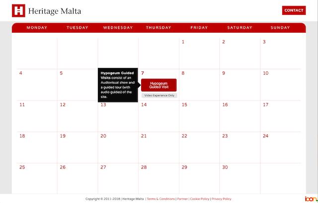 マルタ、ハイポジウムのネット予約