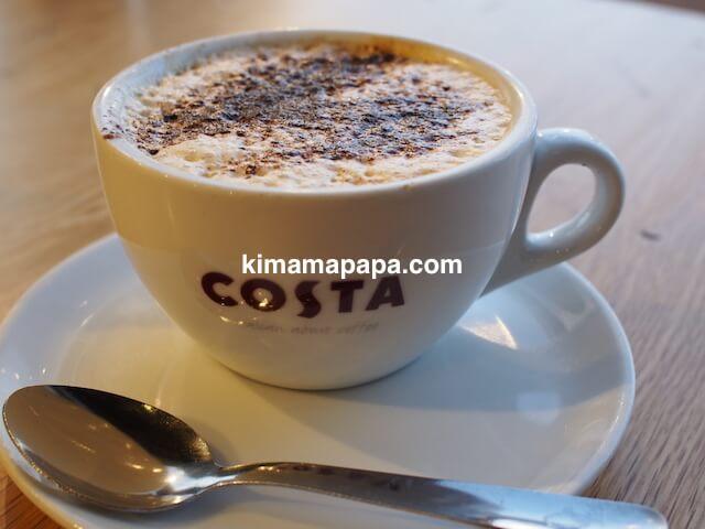 マルタ国際空港のCOSTAコーヒー