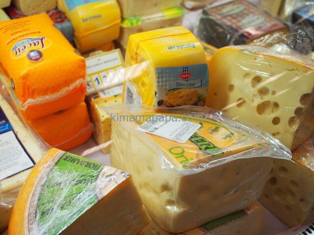 スコッツで売られているチーズ