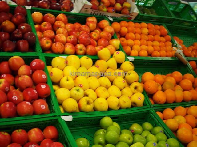 スコッツで売られているフルーツ