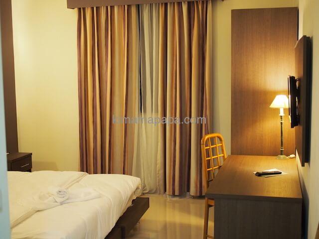 マルタのウインザーホテルの部屋