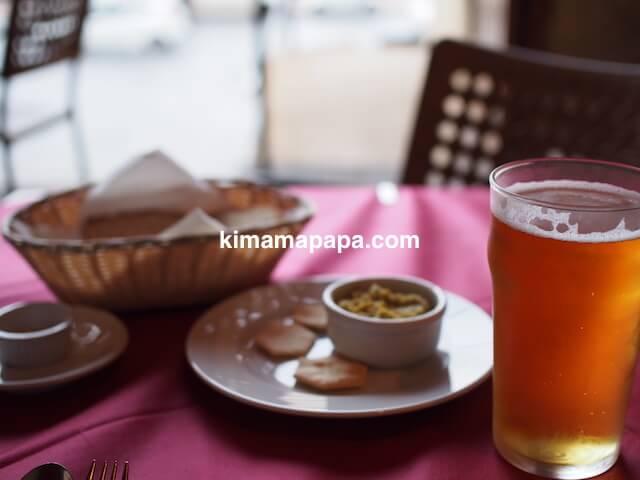セントジュリアン、ペペロンチーノのビール