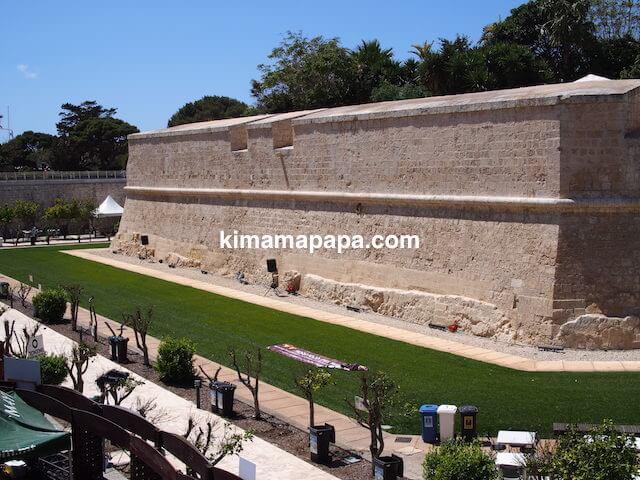 イムディーナ、城壁