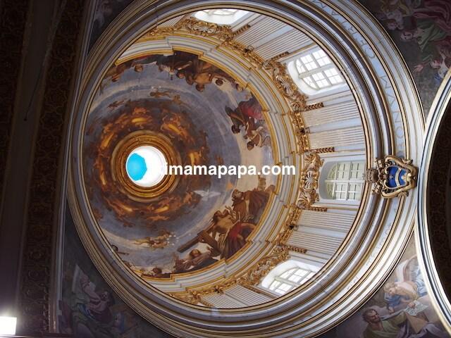 イムディーナ、聖パウロ大聖堂のドーム