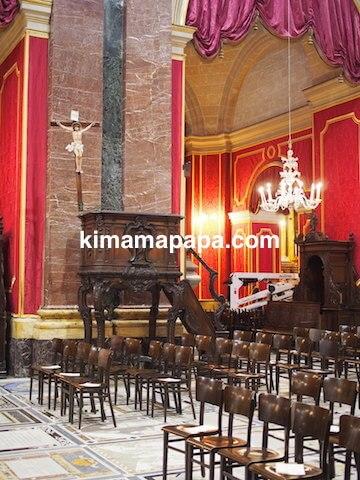 イムディーナ、聖パウロ大聖堂の講壇