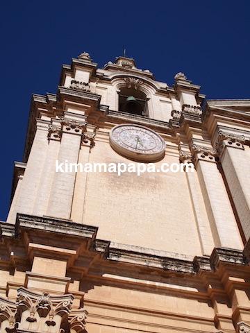 イムディーナ、聖パウロ大聖堂の塔