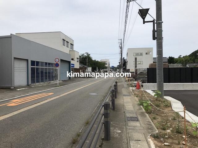 福井県三国町、福寿しへの道