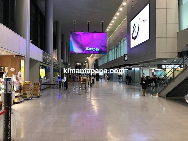 成田第1ターミナル、南ウイング到着ロビー