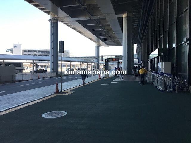成田第1ターミナル、バス停