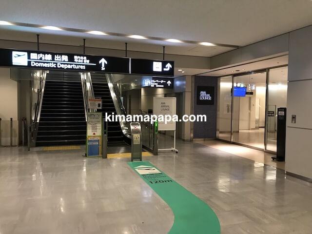 成田第1ターミナル、国内線出発