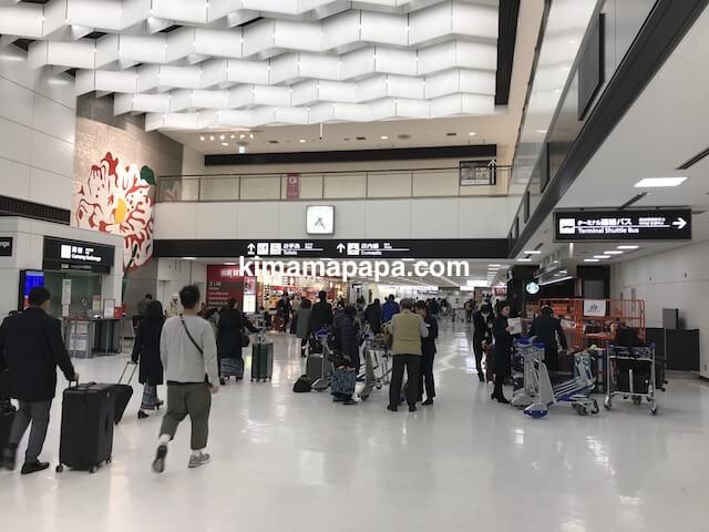 成田第2ターミナル、到着ロビーA