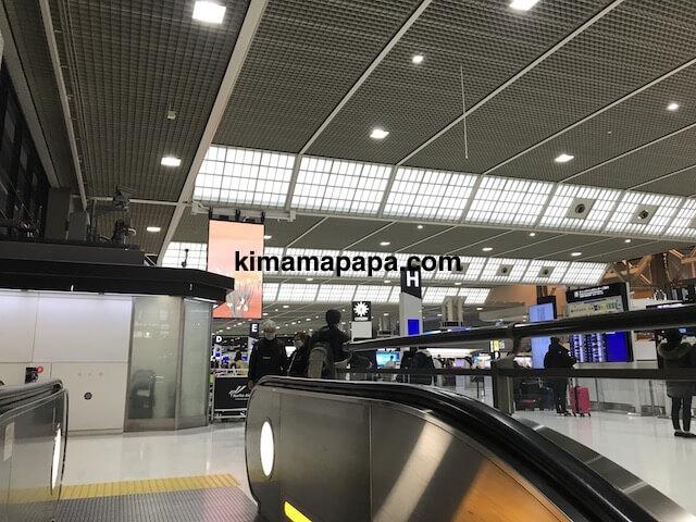 成田第2ターミナル、出発フロア