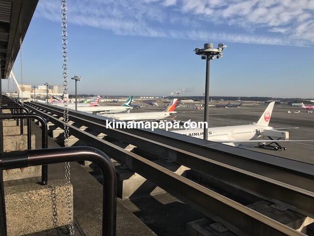 成田第2ターミナル、見学デッキ(北)