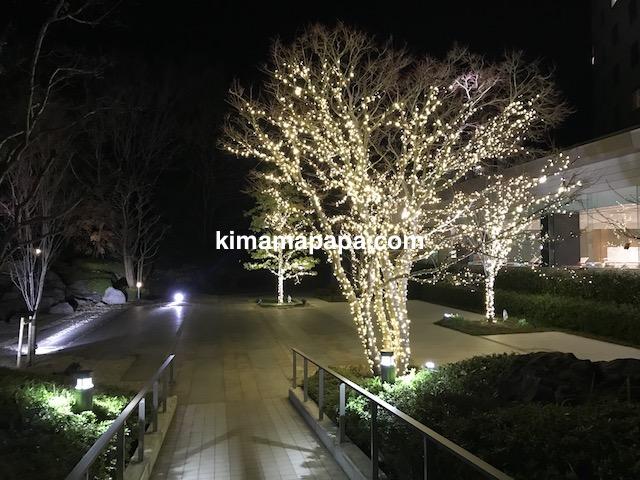 成田東武ホテルエアポートの中庭