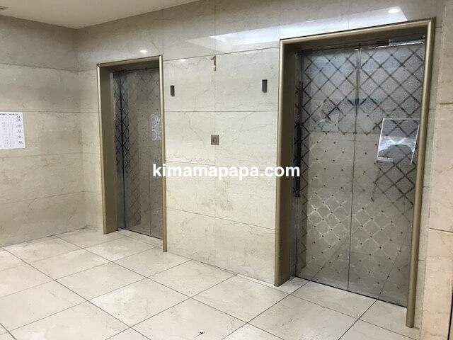 成田東武ホテルエアポートのエレベーターホール