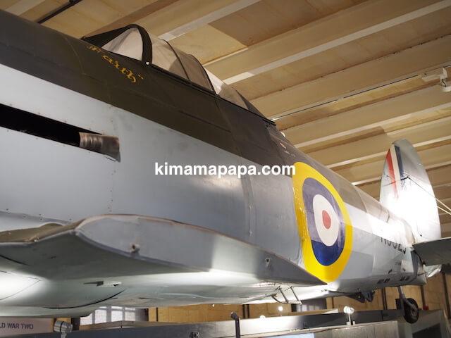ヴァレッタ、国立戦争博物館の戦闘機