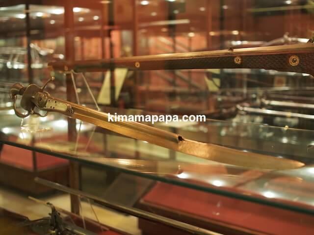 ヴァレッタ、軍事博物館の銃剣