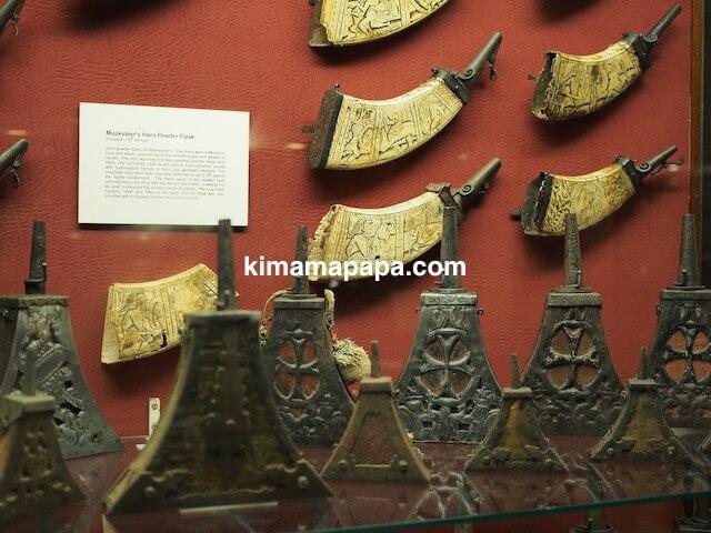 ヴァレッタ、軍事博物館の角笛
