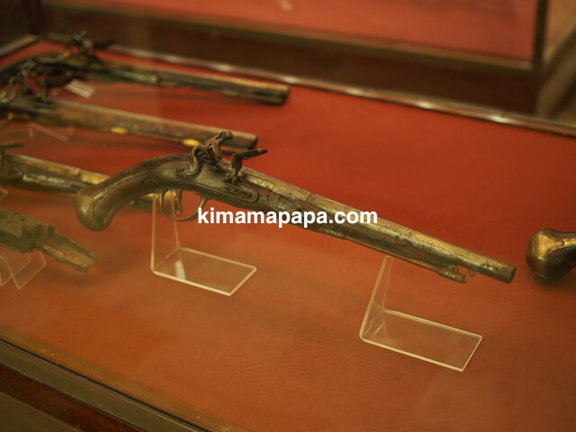 ヴァレッタ、軍事博物館の拳銃