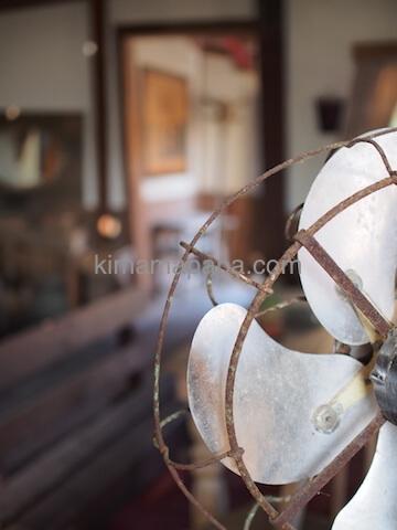 ポパイ村の扇風機