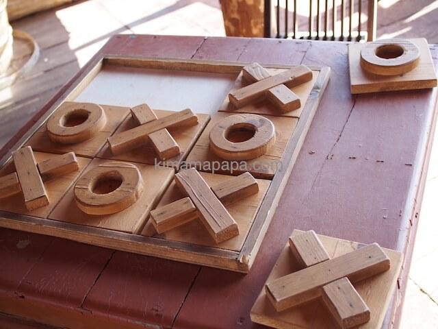 ポパイ村のまるばつゲーム