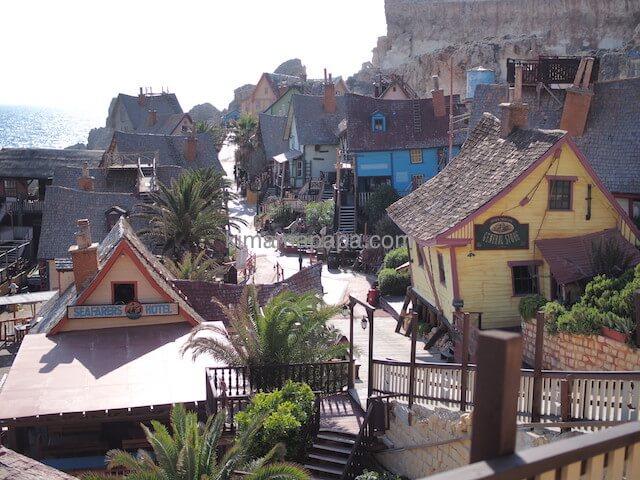 ポパイ村の入り口