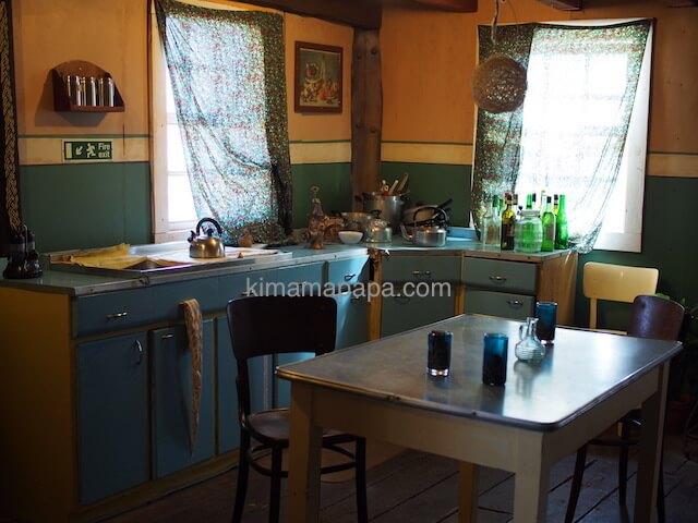 ポパイ村のキッチン