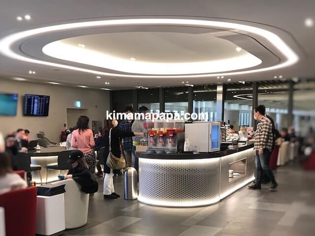 ソウル金浦空港、KALラウンジ