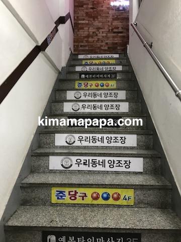 ソウル孔徳、ウリドネン・ヤンジョジャンの階段
