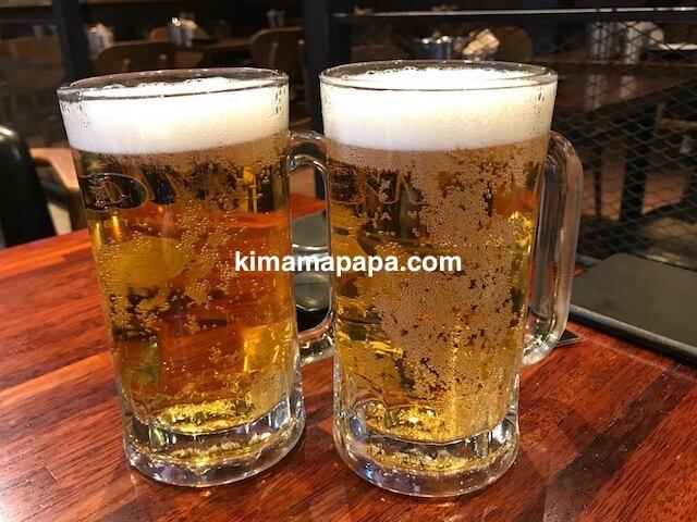 ソウル弘大、キョチョンチキンの生ビール