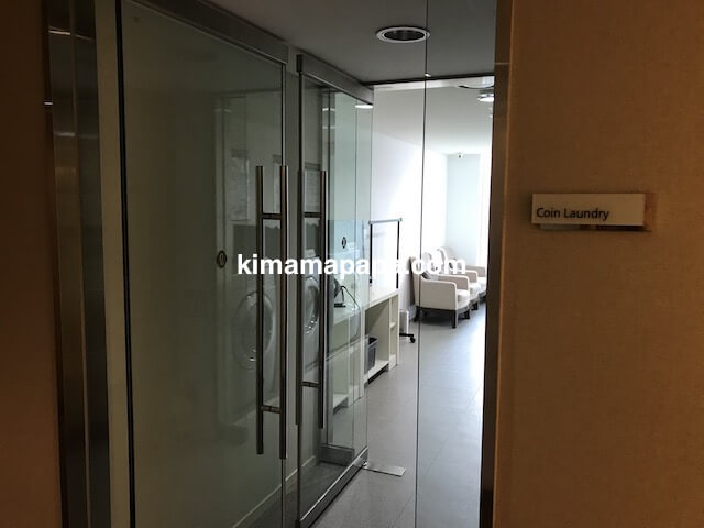 ソウル孔徳、ロッテシティホテル麻浦のコインランドリー入口