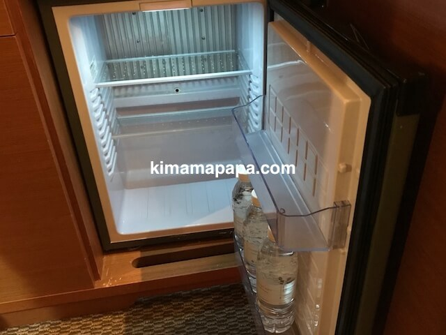 ソウル孔徳、ロッテシティホテル麻浦の冷蔵庫