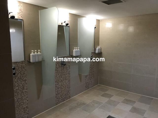 ソウル孔徳、ロッテシティホテル麻浦のフィットネスジムのシャワールーム