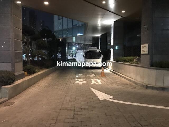 ソウル孔徳、ロッテシティホテル麻浦のシャトルバス