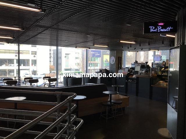 ソウルのノニョンドン、ヒュンダイ2Fのカフェ