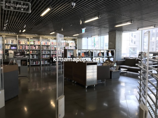 ソウルのノニョンドン、ヒュンダイ2Fの図書室