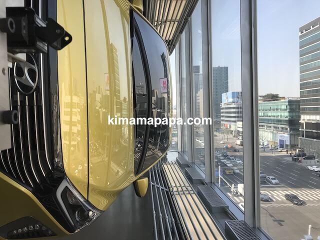 ソウルのノニョンドン、ヒュンダイ5Fからの眺め