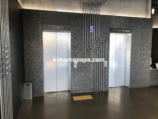 ソウルのノニョンドン、ヒュンダイ5Fのエレベーター