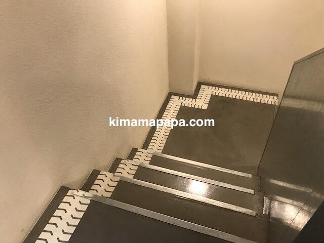 ソウルのノニョンドン、ヒュンダイの階段