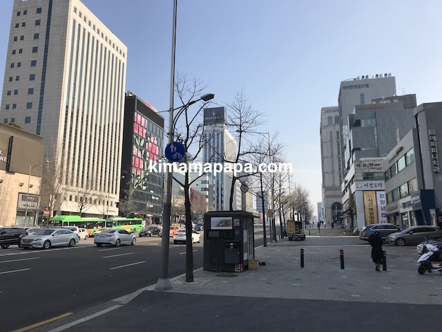 ソウルのノニョンドン、ヒュンダイへの行き方