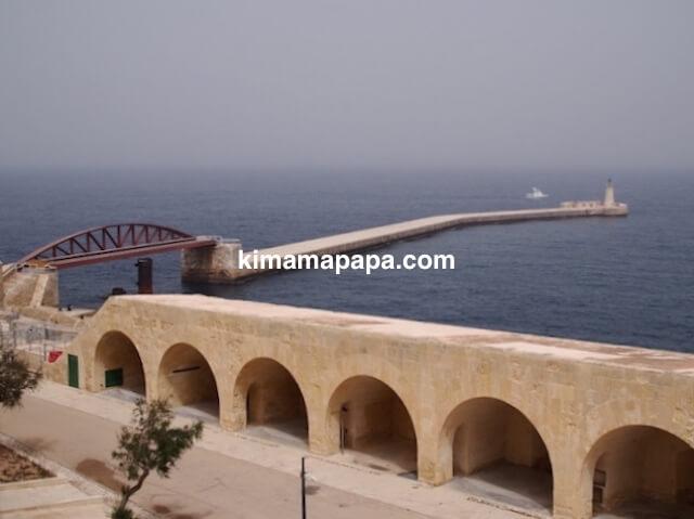 聖エルモ砦の聖エルモ橋