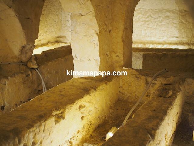 聖パウロカタコンベの内部