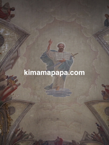 ラバト、聖パウロ教会の天井画