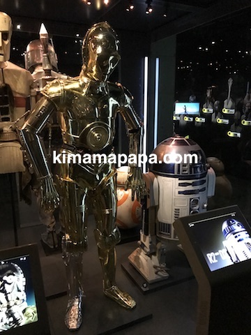 スターウォーズ、C-3POとR2-D2