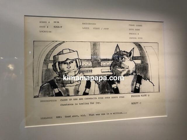 スターウォーズ、ハン・ソロとチューバッカの原案