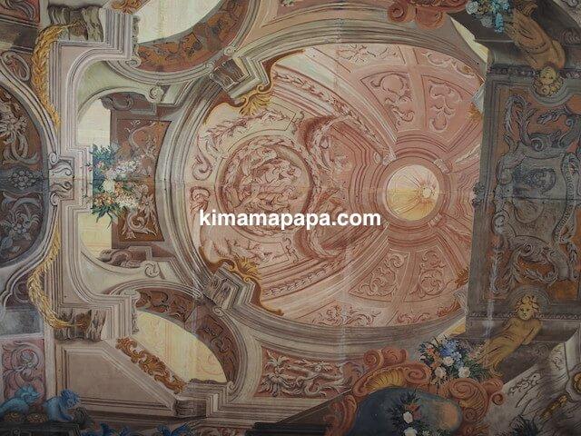 ヴァレッタ、騎士団長の宮殿の天井
