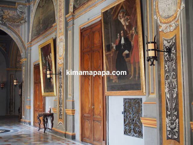 ヴァレッタ、騎士団長の宮殿のドア