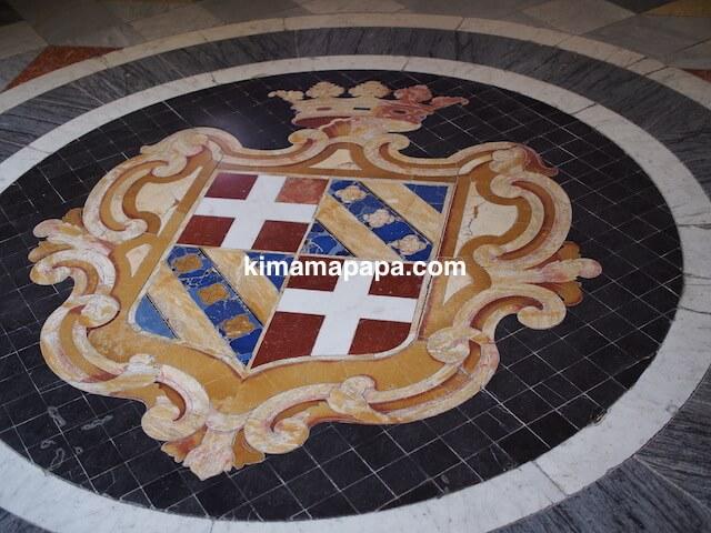 ヴァレッタ、騎士団長の宮殿の床