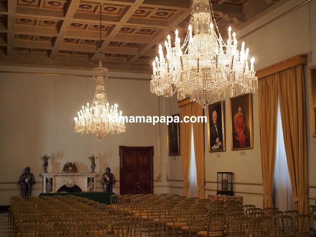 ヴァレッタ、騎士団長の宮殿の食堂